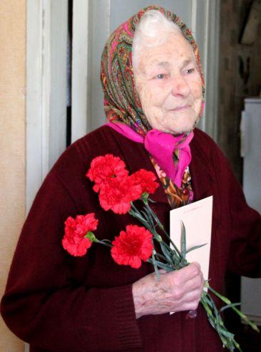 Ветераны ВОВ получили поздравления с 72-ой годовщиной Великой Победы   Наша добрая Смоленщина